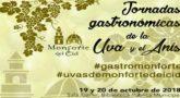 JORNADAS GASTRONOMICAS DE LA UVA Y EL ANIS 2018
