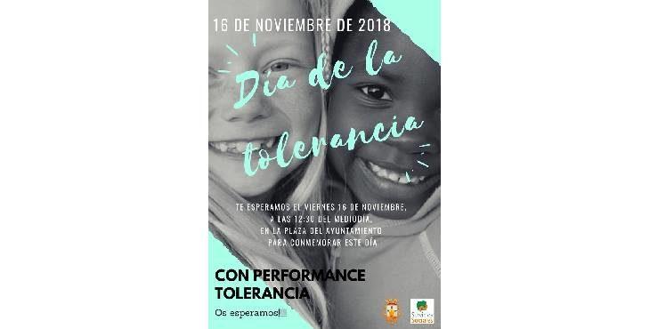 Concentración hoy por la tolerancia el la Plaza del Ayuntamiento a las 12:30