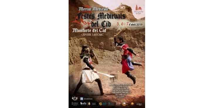 fiestas medievales monforte del cid