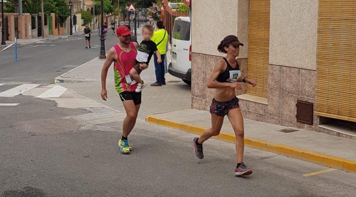 Antonio Navarro Poveda y Candi García Tejero se llevan la victoria en el VIII Cross Subida a Orito