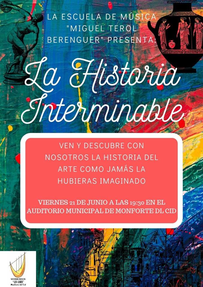 """El viernes 21 de junio, a las 19:30 horas, tendrá lugar un concierto interpretado por los educandos de la escuela de música """"Miguel Terol Berenguer"""""""