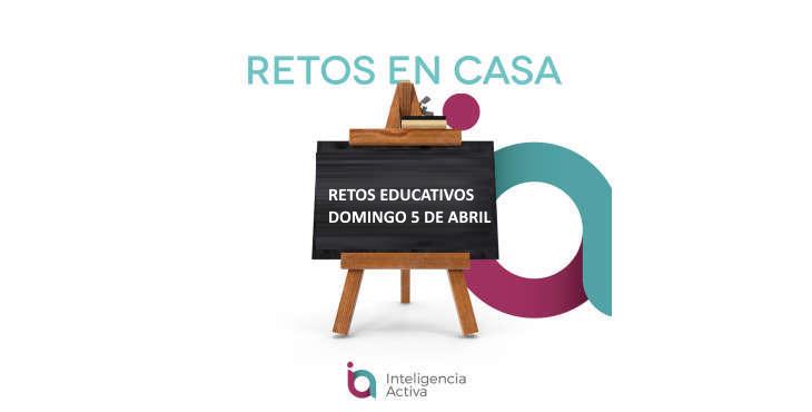 Retos educativos para niños 5 de abril