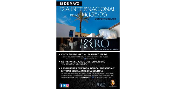 Monforte del Cid presenta su programación especial para el Día Internacional de los Museos