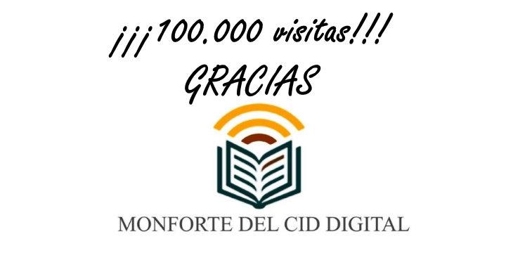 Monforte del Cid Digital alcanza las 100.000 visitas