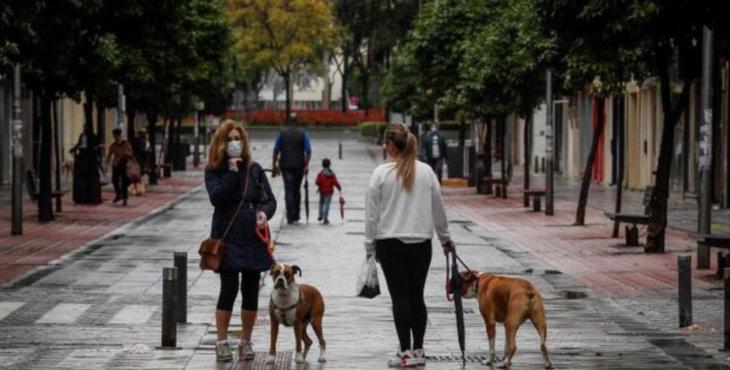 Los paseos a partir de mañana: dos personas, un kilómetro y con franjas horarias