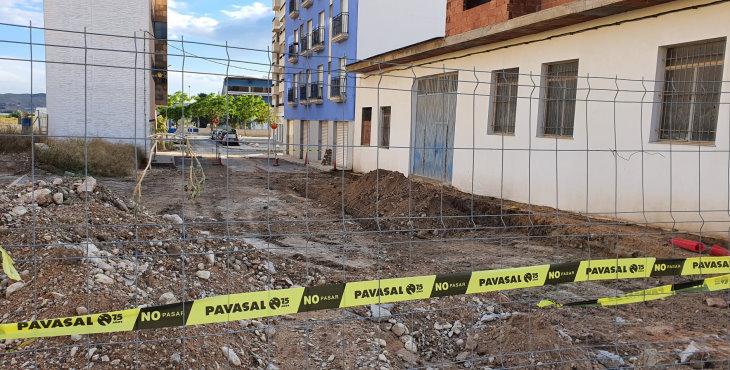 El ayuntamiento de Monforte acomete el asfaltado de varias calles